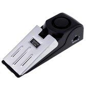 2x Deurstopper Met Alarm - RVS Deurwig - Deur Stopper Wig Met Sirene - Binnen & Buitendeur