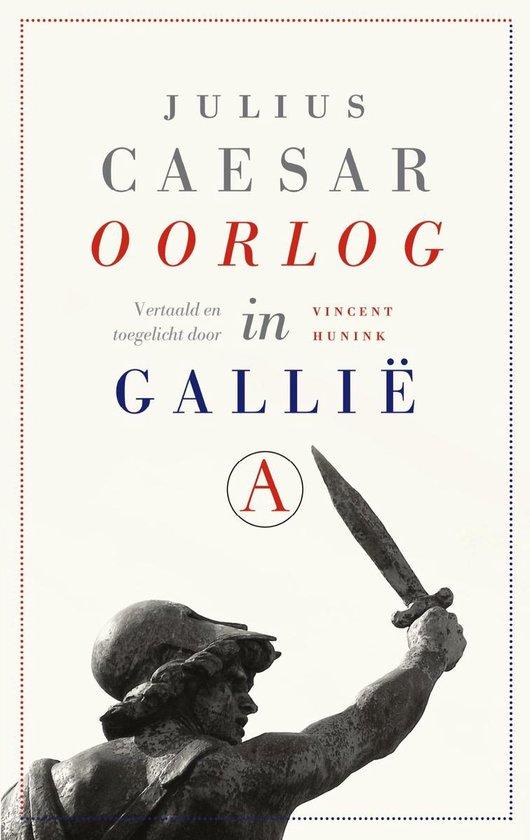 Boek cover Oorlog in Gallië van Julius Caesar (Onbekend)