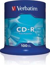 Verbatim CD-R 700 MB Extra Protection 100 stuks