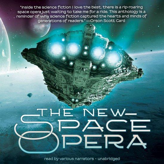 Boek cover The New Space Opera van Jonathan Strahan (Onbekend)