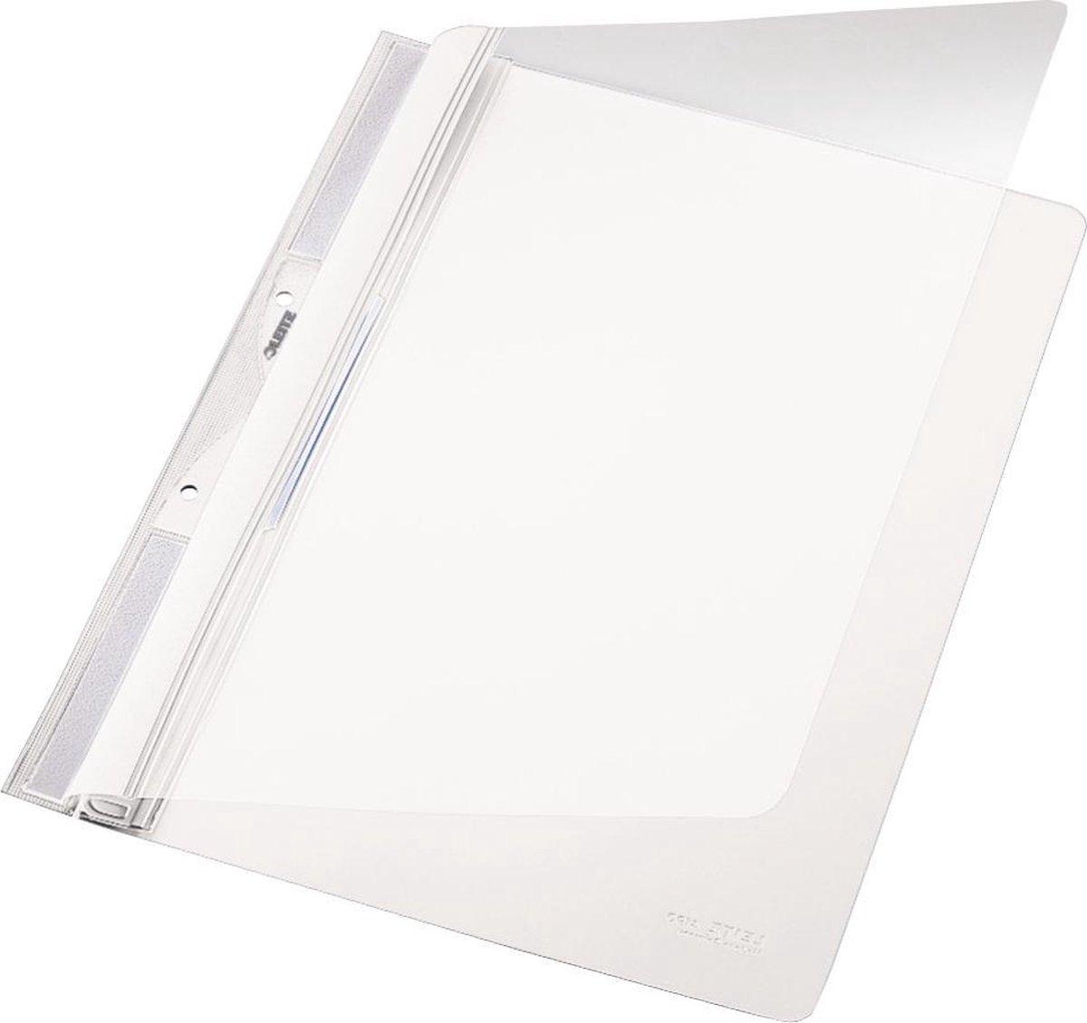 Leitz Kunststof Offertemap Voor In Ordner 2-gaats - A4 - 20 stuks - Wit