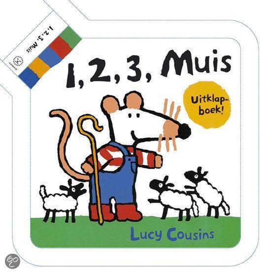 Cover van het boek '1, 2, 3, Muis' van Lucy Cousins