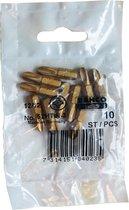 BAHCO PH3 titaan schroefbit Phillips 52HTIN-3, 10 stuks