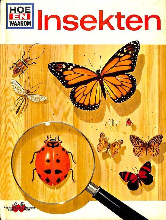 Hoe en waarom boek insekten - Rood  