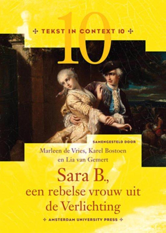 Tekst in Context 10 - Sara B., een rebelse vrouw uit de Verlichting - Karel Bostoen |