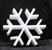 Piepschuim vorm ijskristal 30 cm - styropor figuur