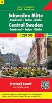 FB Zweden, blad 4 Midden • Sundsvall • Falun • Gävle