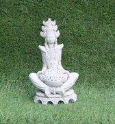 Tuinbeeld Boedha - decoratie voor binnen/buiten - beton
