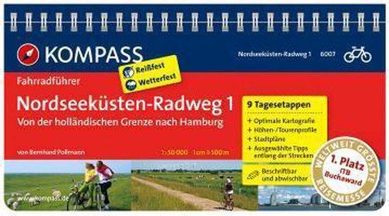 RF6007 Nordseeküsten-Radweg 1, von der holländischen Grenze nach Hamburg Kompass - Kompass   Readingchampions.org.uk