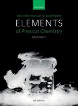 Solutions Manual to accompany Elements of Physical Chemistry 7e