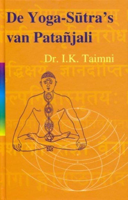 Boek cover De yoga sutras van Patanjali van I.K. Taimni (Hardcover)