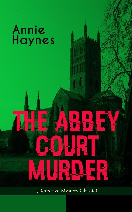 Omslag van THE ABBEY COURT MURDER (Detective Mystery Classic)
