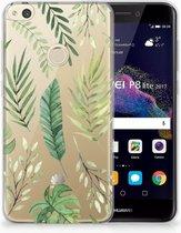 Huawei P8 Lite 2017 Uniek TPU Hoesje Leaves