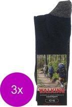 Stapp Unisex Walking Sok Marine - Sokken - 3 x 39-42