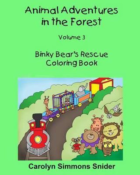 Binky Bear's Rescue Coloring Book