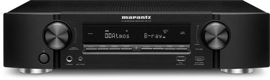 Marantz NR1710 zwart slimline 7.2-kanaals AV-receiver