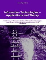 Itat 2015 Conference Proceedings