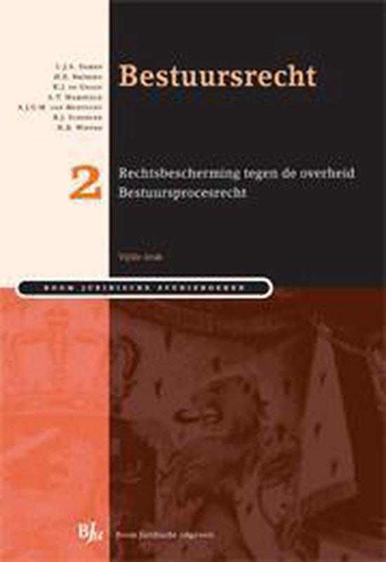 Boek cover Bestuursrecht / deel 2 van L.J.A. Damen (Paperback)