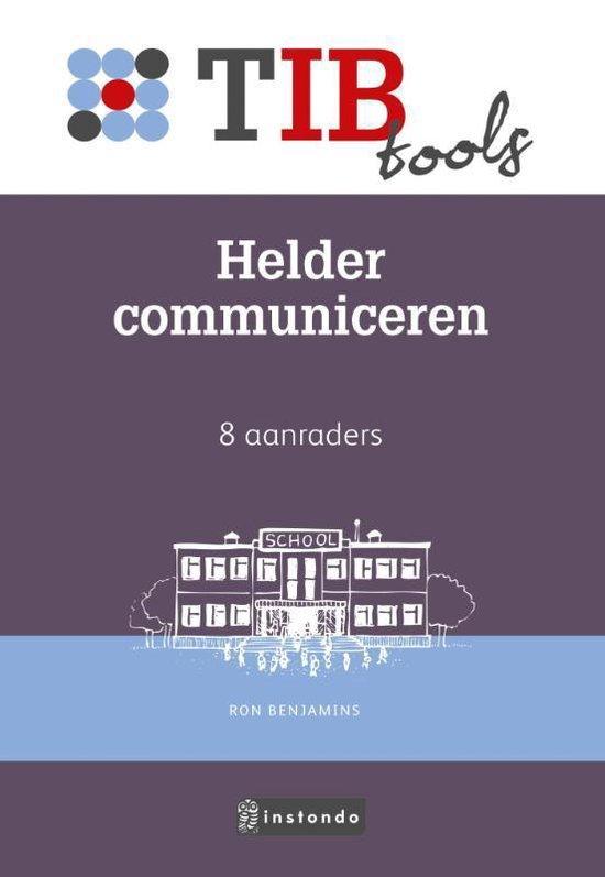 TIBtools - Helder communiceren - Ron Benjamins |