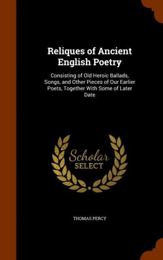 Reliques of Ancient English Poetry