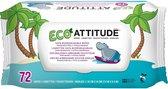 Attitude - Eco Babydoekjes 72 st