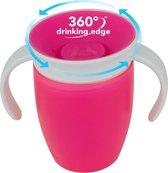 Munchkin Miracle 360 trainer Drinkbeker - Roze