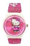 Hello Kitty - Horloge - Kunststof - 30 mm - Roze