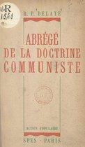 Abrégé de la doctrine communiste