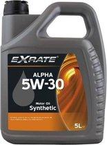 Exrate Motorolie 5W30 Alpha Synthetisch - 5 Liter