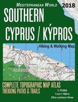 Southern Cyprus / Kypros Hiking & Walking Map 1