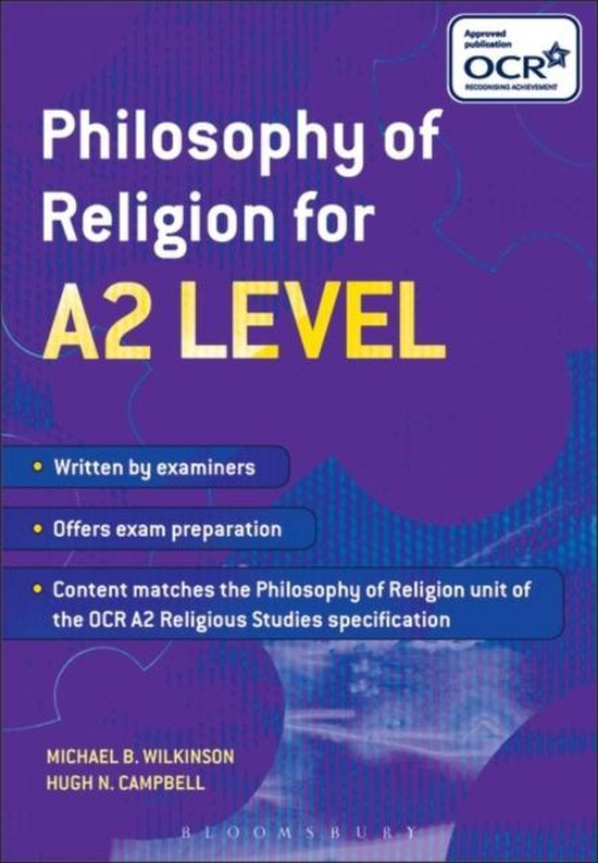 Philosophy of Religion for A2 Level
