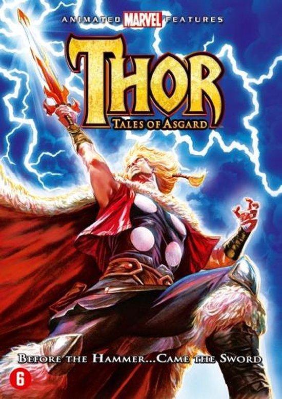 Cover van de film 'Thor Tales Of Asgard'