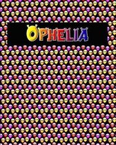 120 Page Handwriting Practice Book with Colorful Alien Cover Ophelia