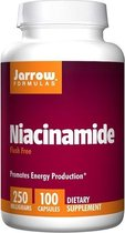 Niacinamide, 250 mg, 100 capsules