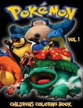 Pokemon Go Childrens Coloring Book Vol 1