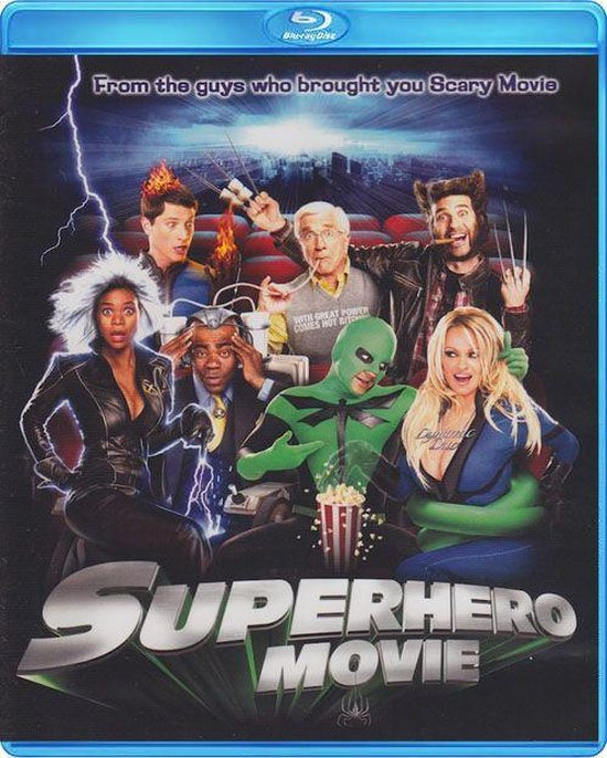 Cover van de film 'Superhero Movie'
