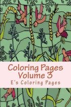 Coloring Pages Volume 3