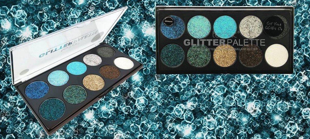 Technic Glitter Oogschaduw Palette - Get Your Glitter On - Technic