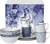 Laura Ashley Serviesset 12-delig - 4 persoons - porselein - Blueprint Colelctables