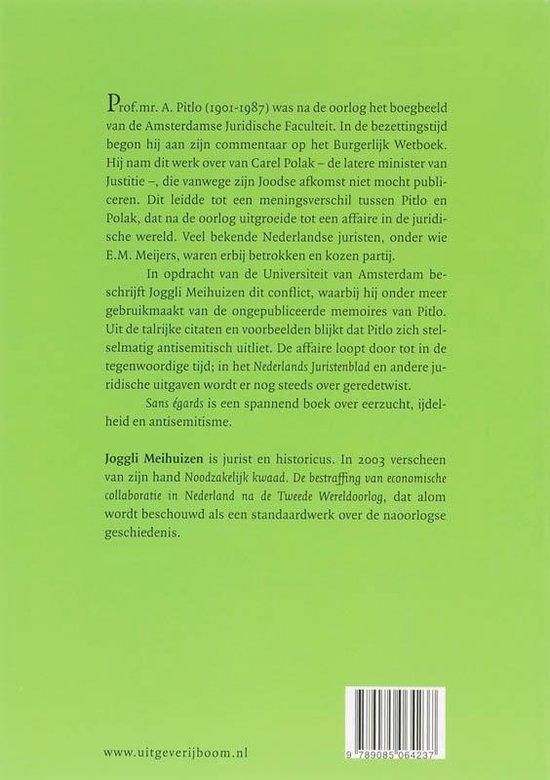 Sans Egards - J. Meihuizen pdf epub