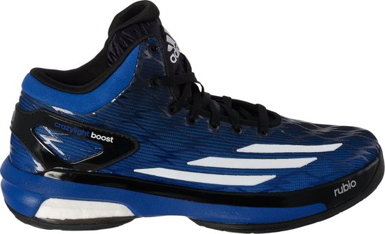 adidas Crazy Light Boost  - Basketbalschoenen - Mannen - Maat 47 1/3 - Blauw