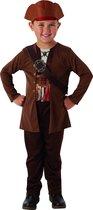 Jack Sparrow - Pirates of the Caribbean kostuum voor kinderen - Verkleedkleding - 128/140