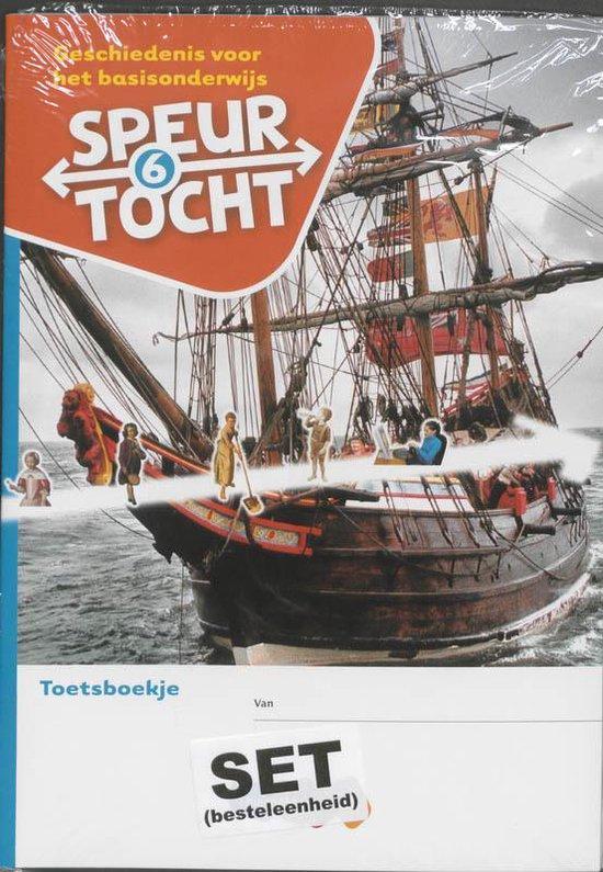 Boek cover Speurtocht Groep 6 Geschiedenis voor het basisonderwijs Toetsboekje van Bep Braam (Paperback)