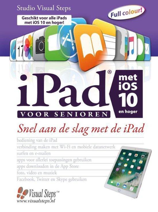 Afbeelding van iPad voor senioren met iOS 10 en hoger