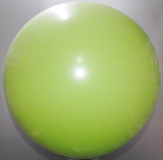reuze ballon 160 cm 64 inch lime groen