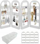 Oorbellenrekje Sieradenrekje - Juwelen Sieraden / Oorbellen / Ketting Organizer Display Houder - Transparant