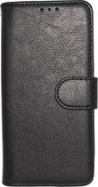Samsung Galaxy Note 9 Hoesje - Hoge Kwaliteit Portemonnee Book Case - Zwart