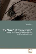 The Error of Correctness
