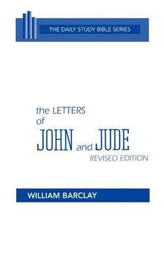 Boek cover The Letters of John and Jude van William Barclay (Hardcover)