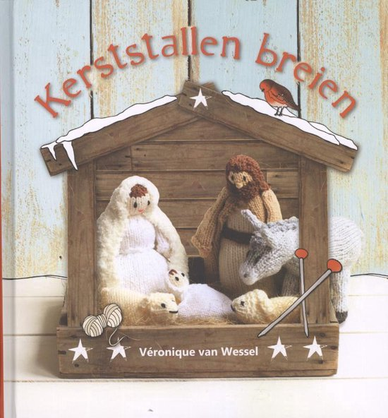 Kerststallen breien - Véronique van Wessel  